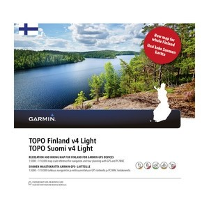 Garmin TOPO Finland v4 Light microSD-/SD-muistikortilla