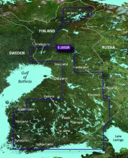 Garmin BlueChart g3 Vision HD, VEU055R Suomen järvet