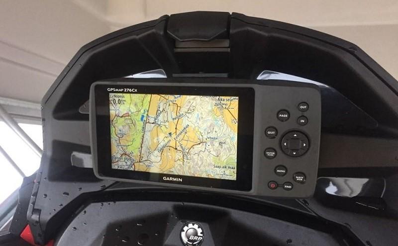 Garmin GPSMAP 276 Cx + kelkkareittikartasto