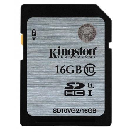 Muistikortti Kingston 16GB SDHC CLASS10