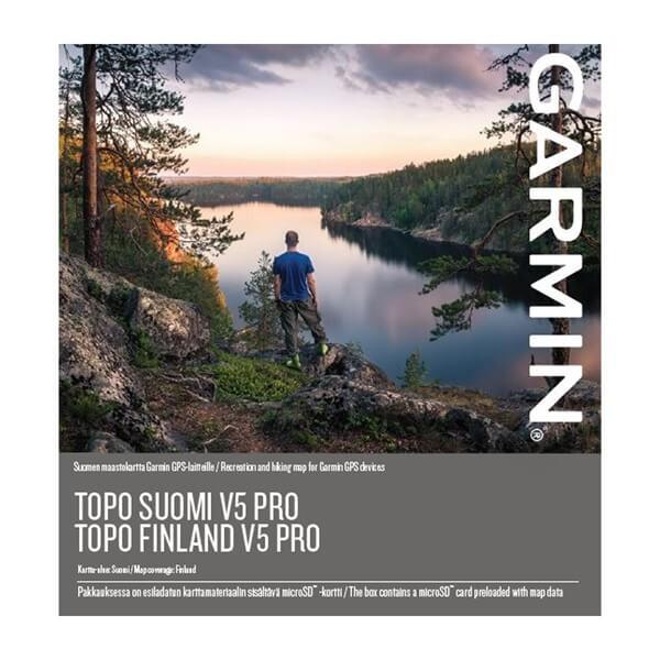 Garmin Topo Finland V5 Pro sd-card