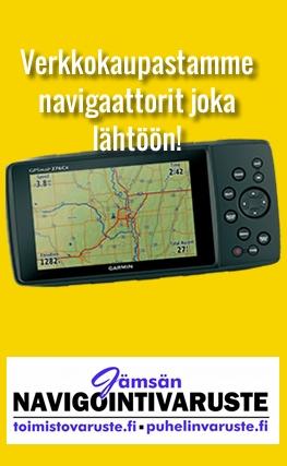 Jämsän Navigointivaruste-banneri